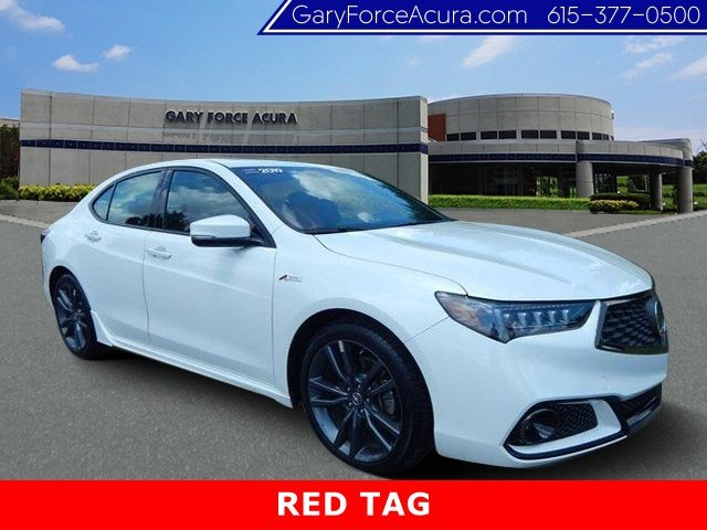 Certified Pre-Owned 2019 Acura TLX 3.5 V-6 9-AT P-AWS with A-SPEC RED