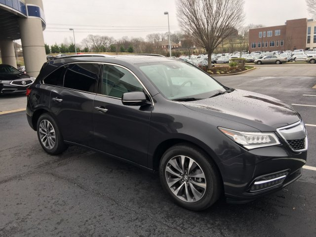 Pre-Owned 2016 Acura MDX w/Tech