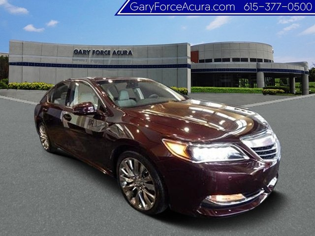 New 2017 Acura RLX with Advance Package