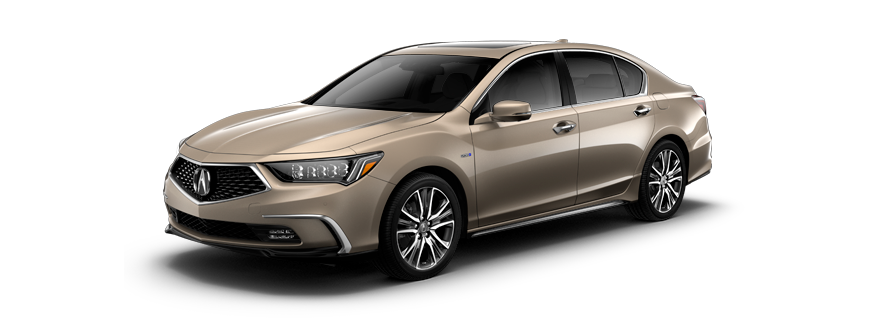 2020 Acura Rlx Sport Hybrid Sh Awd With Advance Package
